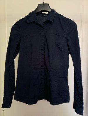 Amisu Blusa-camisa azul-azul oscuro