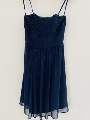 Jake*s Szyfonowa sukienka ciemnoniebieski Szyfon
