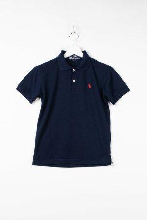 Dunkelblaues Damen Poloshirt in S