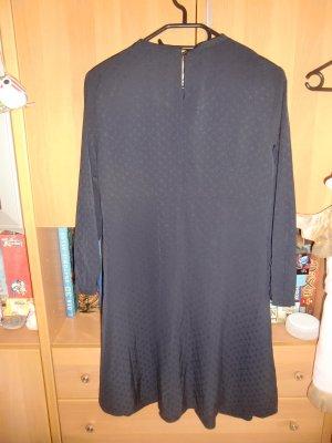 Dunkelblaues Esprit Sommerkleid mit 3/4 Ärmeln - Gr. 36 - NEU