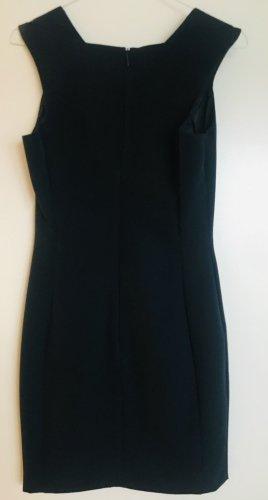 Dunkelblaues Etui-Kleid von MANGO in Größe XS