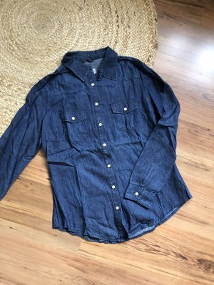 Denim & сo Denim Shirt dark blue