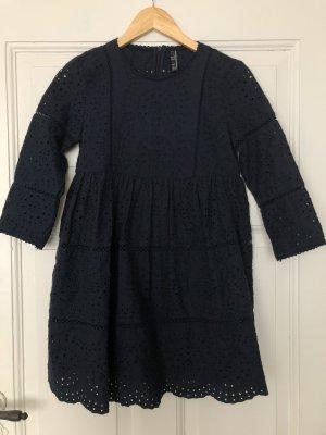 Dunkelblaues Jumpsuit-Kleid von Zara