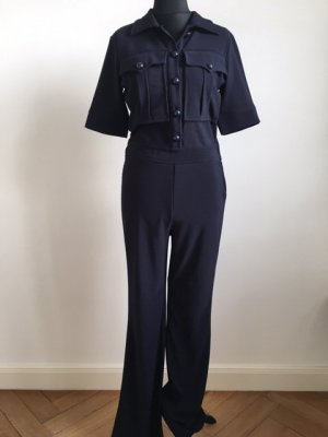 H&M Jumpsuit donkerblauw Polyester