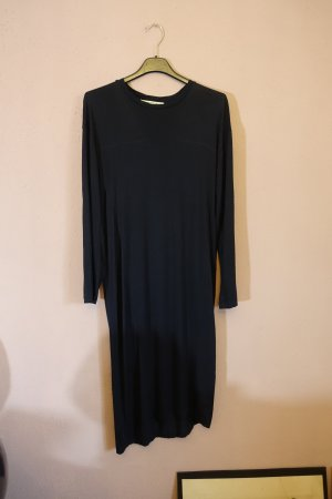 Acne Jersey Dress dark blue-blue lyocell