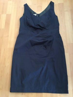 Apanage Vestido de noche azul oscuro
