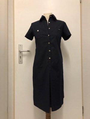 Shirtwaist dress dark blue