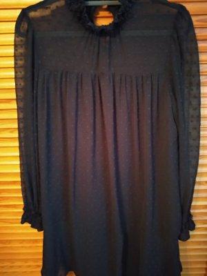 Dunkelblaues Kleid mit tollen Details