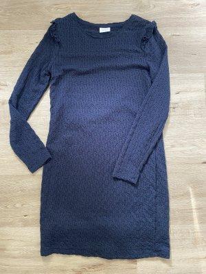 Villa Jersey Dress dark blue