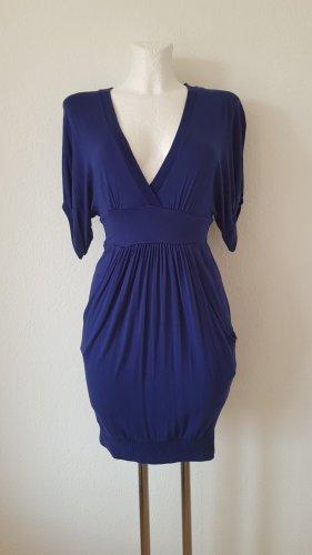 Dunkelblaues Kleid Zara