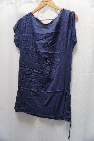 dunkelblaues Kleidchen Stradivarius, Gr. S, schick + lässig