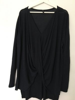 Dunkelblaues langes Shirt von Vero Moda