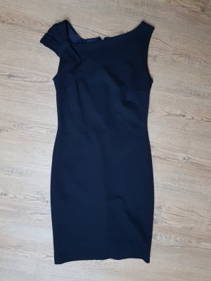 dunkelblaues Mango Kleid