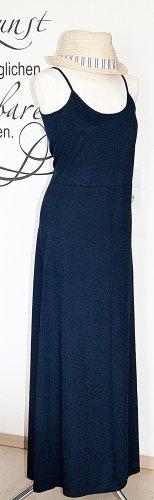 Dunkelblaues Maxikleid mit raffiniertem Rückenausschnitt - NEU mit Etikett!!