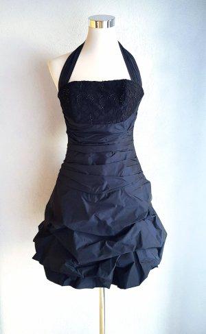 Vestido de baile azul oscuro
