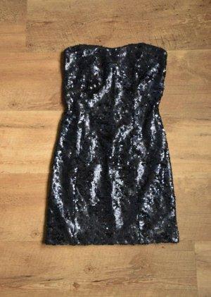 Guess Vestido de cóctel azul oscuro