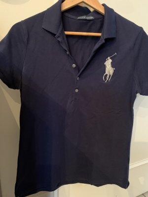 Dunkelblaues Polo von Ralph Lauren