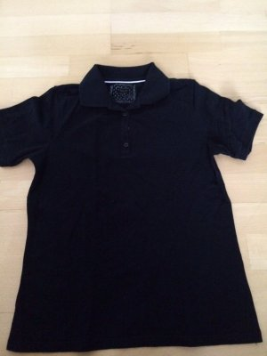 Darling Harbour Polo Shirt dark blue cotton