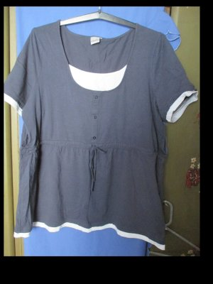 Dunkelblaues Shirt von Giada in Größe 54