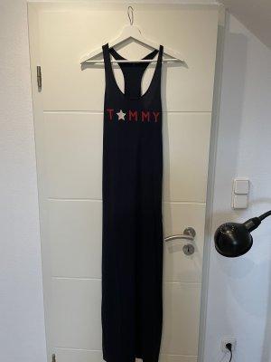 Dunkelblaues Sommerkleid von Tommy Hilfiger in XS