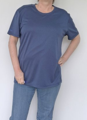 active by Tchibo T-shirt blu acciaio-blu scuro Poliestere