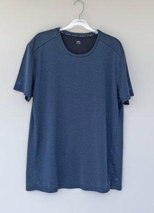 active by Tchibo T-shirt bleu acier-bleu foncé polyester