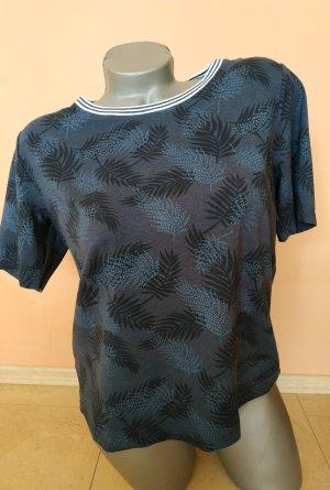 Dunkelblaues T-Shirt, Gr. S