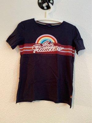 """Dunkelblaues T-Shirt mit Print """"San Francisco"""" in Gr. S von Esprit"""