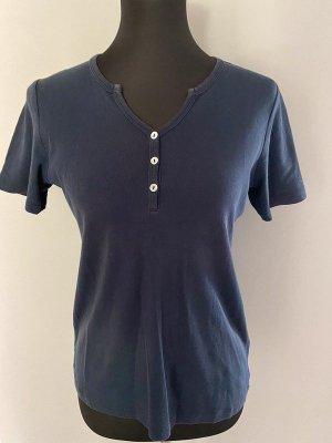 Dunkelblaues T-Shirt von brookshire, Gr. M