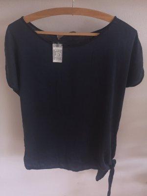 Hallhuber Donna Short Sleeved Blouse blue-dark blue