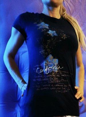 Dunkelblaues T-Shirt von lilu