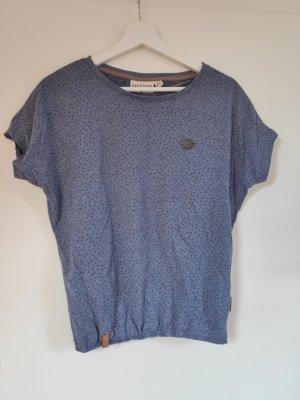 Dunkelblaues T-Shirt von Naketano