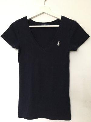 Polo Ralph Lauren T-shirt ciemnoniebieski-biały Bawełna