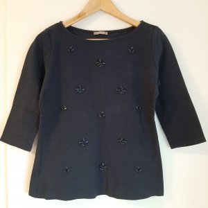 Orsay A Line Top dark blue-blue cotton