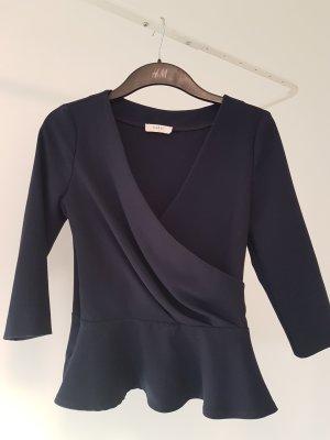 Ba&sh Maglietta aderente blu scuro