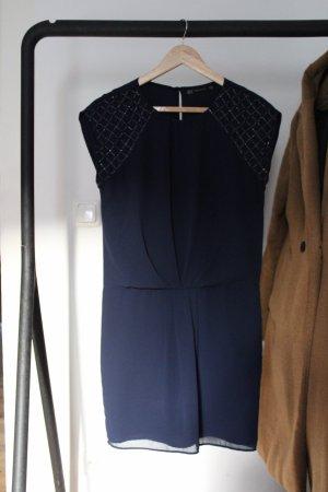 Zara Sheath Dress dark blue
