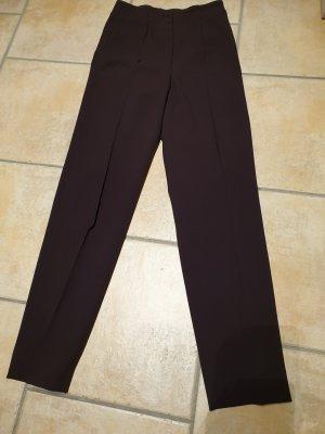 Cambio Stretch broek donkerbruin Polyamide