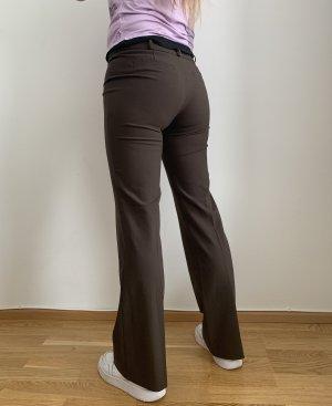 Esprit Pantalone a zampa d'elefante marrone scuro
