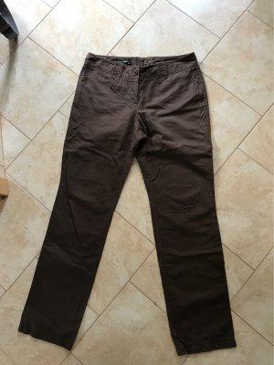 Marc Aurel Pantalone cinque tasche marrone scuro