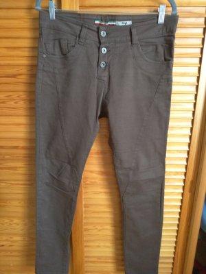 dunkelbraune Jeans von Please
