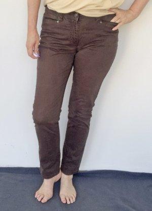 Tchibo / TCM Carrot Jeans brown cotton