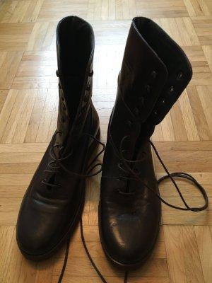 René Lezard Aanrijg laarzen bruin