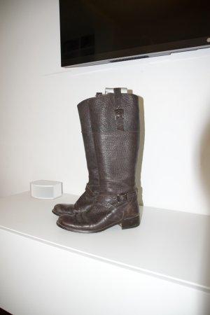 Belmondo Riding Boots dark brown leather