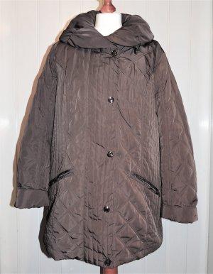 Canda Pikowana kurtka ciemnobrązowy Poliester