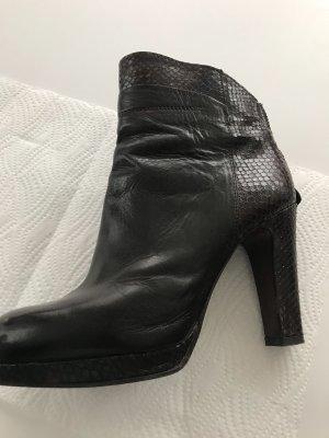 Dunkelbraune Stiefeletten, Größe 40, von Progetto