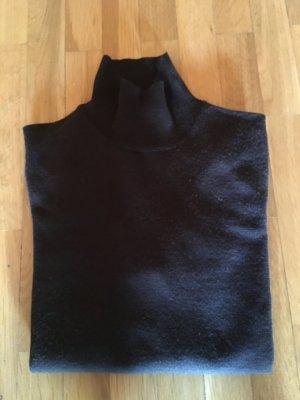 dunkelbrauner Feinstrickpullover von Stefanel