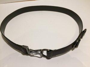 Hugo Boss Waist Belt dark brown leather