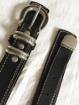 Leather Belt multicolored leather