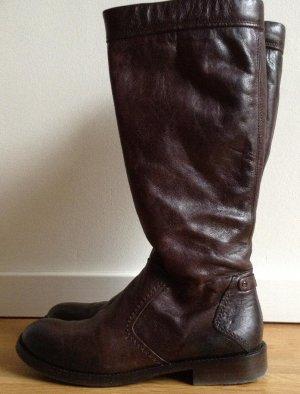 dunkelbrauner Stiefel von oXs/ GR. 36/ NP 389 Euro