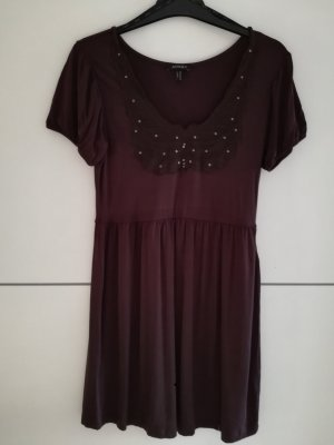 Apart Shirt Dress dark brown